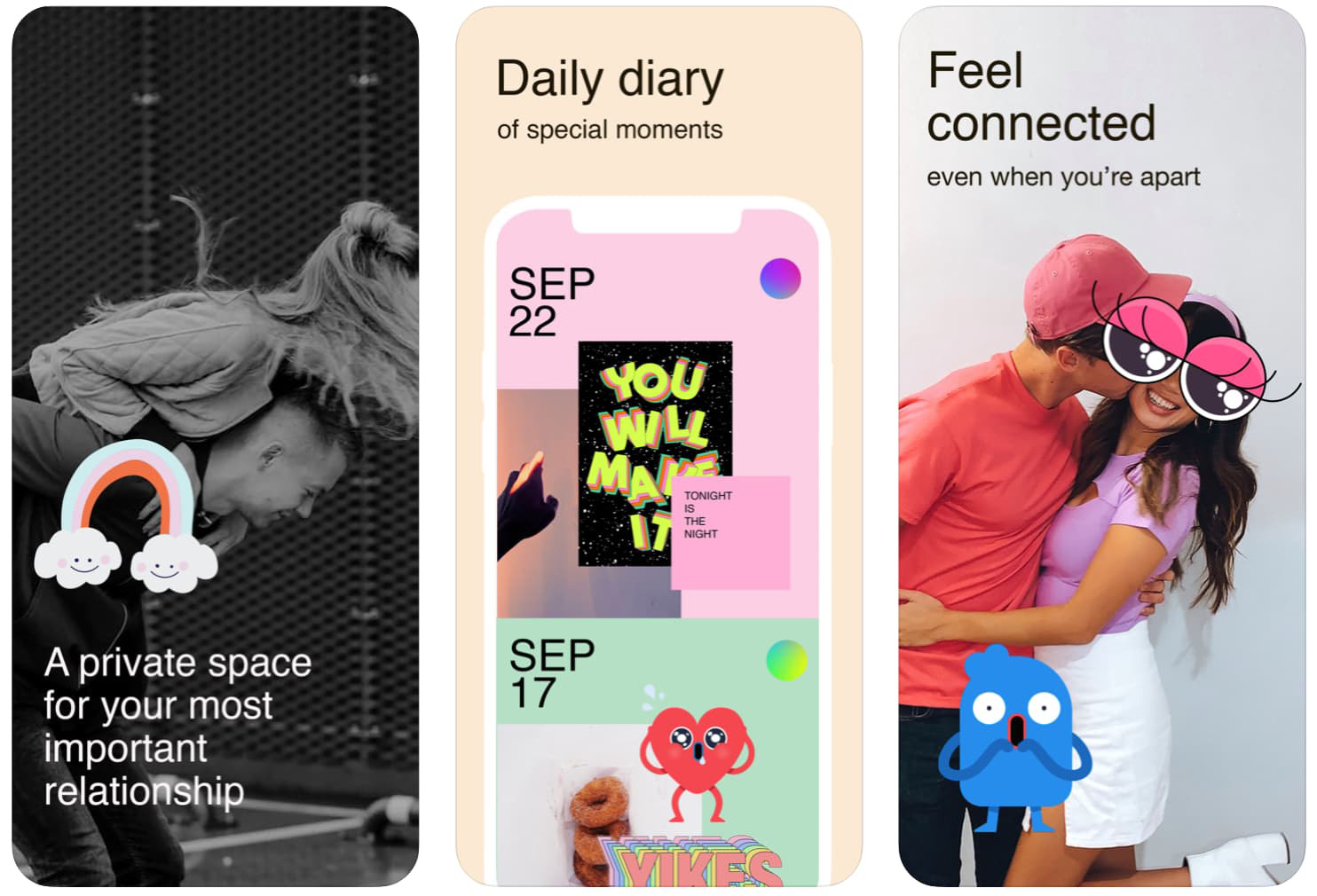 Tuned - a new app for couples